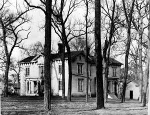 History - An old photo of the house