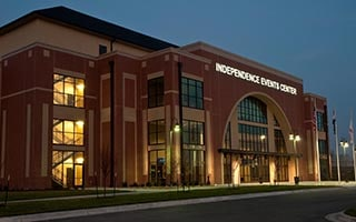 Boxing Venue: Independence Events Center