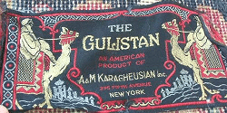 Karagheusian Carpeting Label