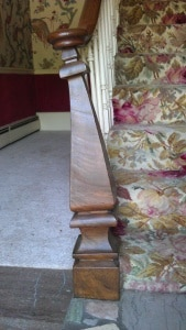 Patterns and Textures: Stair Post