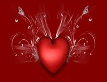 Heart with Flourishes